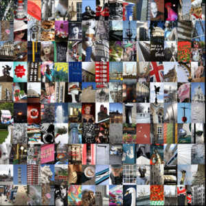 London Montage Square 150 images Limited Edition 20