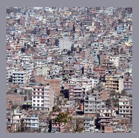Kathmandu Valley Silk Scarf