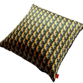 Dogtooth YELLOW duchesssatin