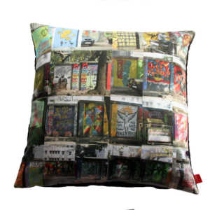 Mumbai Montage Cushion