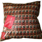 UCFC, Epping, Rugby, Rugby Club, Epping UCRFC Repeat Design Cushion by Swin