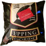 Epping UCRFC Cushion, eucrfc, ucfc, rugby club, rugby club cushion,