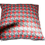 Pet cushion, red cushion, dog cushion, swin