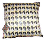 Freddie Cushion, Dog cushion, Bespoke, Duchess Satin, Luxury gift, mans best friend, springer spaniel
