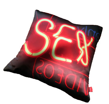 swin, sex cushion, brewer street, neon, soho neon, soho