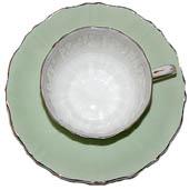 tea cup, vintage, vintage tea cup, green tea cup