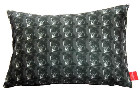 DogTooth Staffordshire GREY Linen 30x50cm