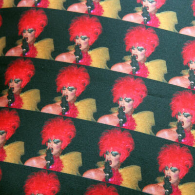 Drag Queen Interiors,Crown, crown design, Elizabeth Design, Bearskin Design, Soldier Design, Crown Design, Crown, Elizabeth Design, Dogtooth Design, Staffie, Staffie Design, Claire Swindale Interior Design, wallpapers, fabrics, textiles, made in england, designed in england, drag queens, dog tooth, repeat patterns, british, swin, claire swindale, bespoke