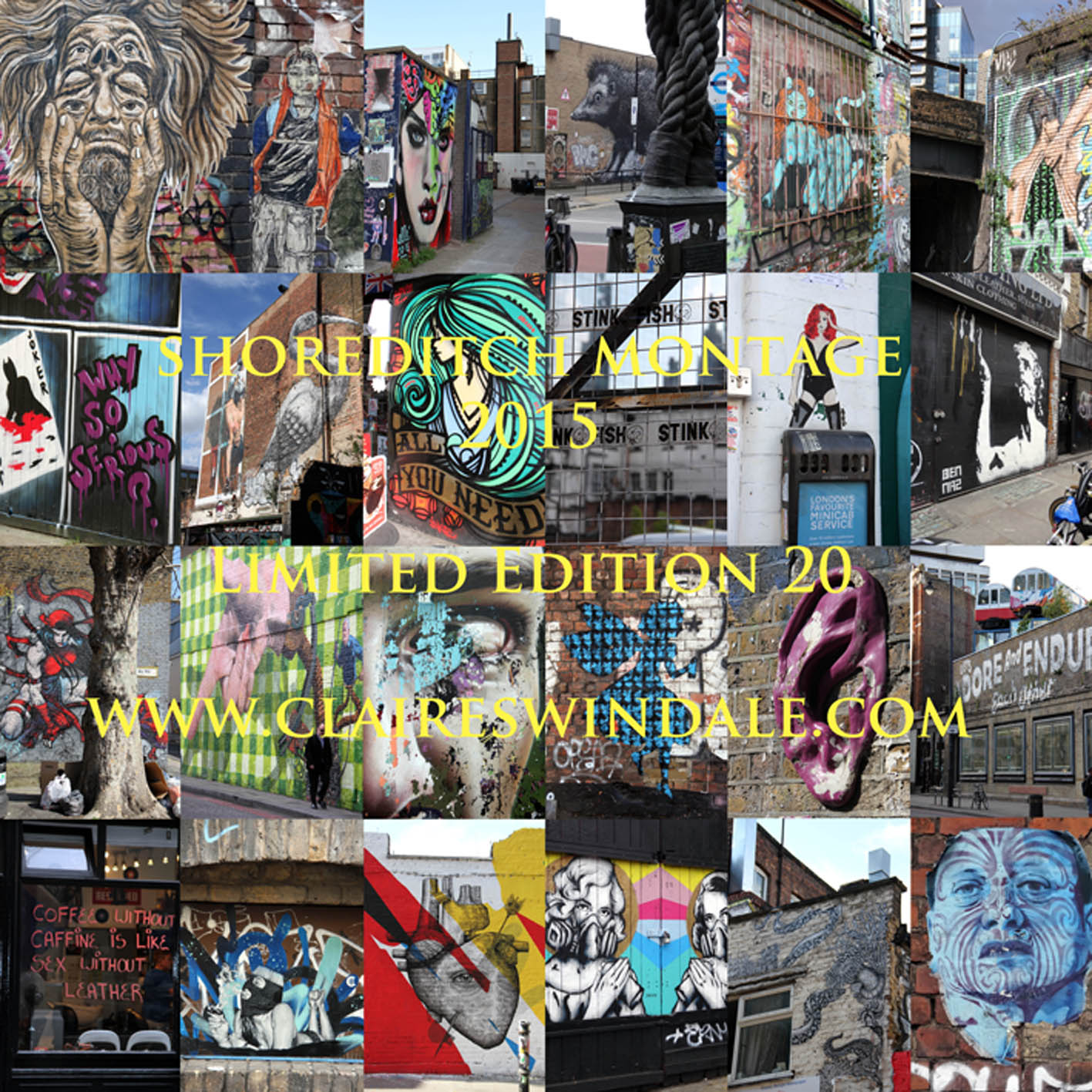 shoreditch, shoreditch art, shoreditch montage