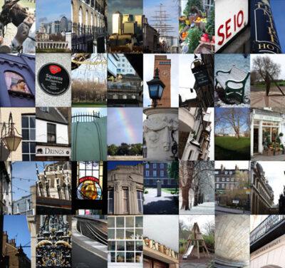 greenwich montage print, prints, london prints, greenwich prints, limited edition greenwich prints,