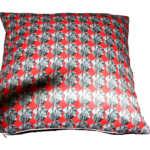 Pet cushion, red cushion, dog cushion, swin